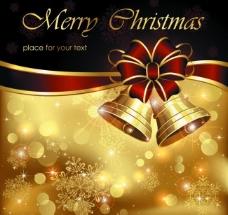 圣诞诞背景铃铛图片