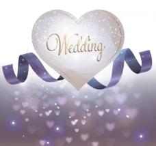 婚礼请柬背景图片