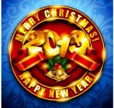 2013年圣诞节背景素材图片