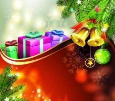 圣诞礼物背景图片