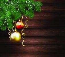 圣诞球背景图片