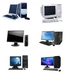 液晶电脑 台式电脑图片