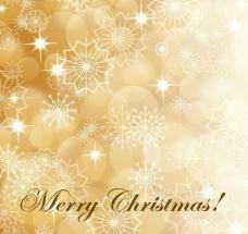 梦幻圣诞节雪花背景图片