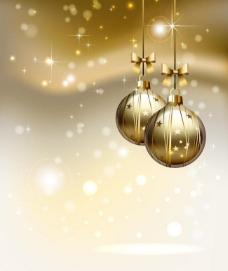 金色梦幻圣诞图片
