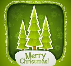 圣诞树圣诞背景图片