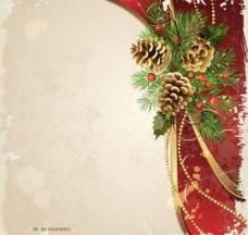 墨迹圣诞背景图片