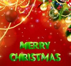 圣诞节梦幻背景图片