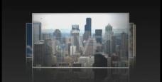 时尚城市暗黑相册模版图片
