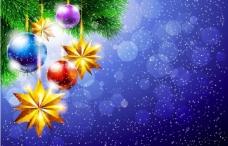 梦幻圣诞背景图片