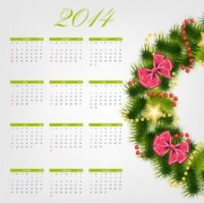 2014年日历
