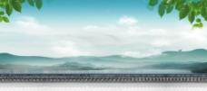 山水意境 湖泊图片
