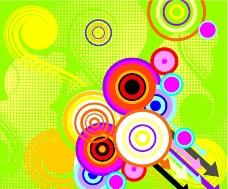 圆圈矢量图片