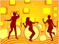 动感舞蹈女孩图片