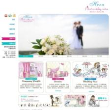 清爽婚庆网站图片