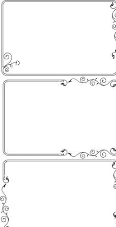 边框花纹 简单图片