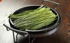 铁板韭菜图片
