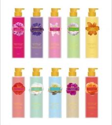 花香系列护肤产品图片