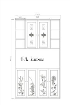 中式柜子图片