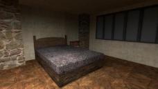 卧室床环境效果图图片