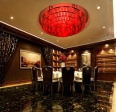 餐厅包厢设计效果图片