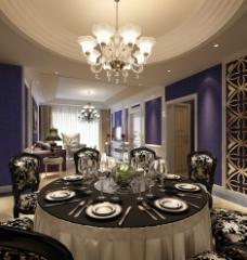 餐厅房间效果图设计图片