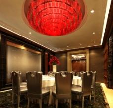 餐厅环境装饰效果图设图片