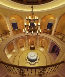 大厅俯看装饰效果图图片