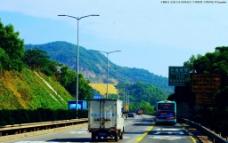 盐坝高速 交通景观图片
