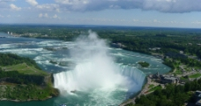 俯拍尼亚加拉大瀑布图片