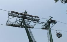 泰山缆车图片