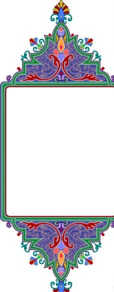 透明绿叶边框,绿色 叶子 背景 淡雅 清新 蝴蝶 花纹