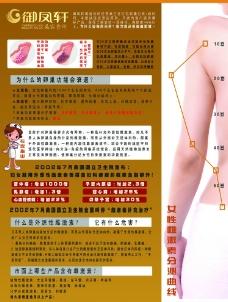 卵巢保养海报图片