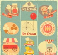复古食品图标图片