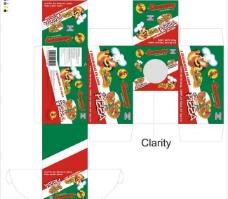 包装设计 pizza 糖果 qq糖图片