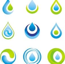 蓝色水滴图片