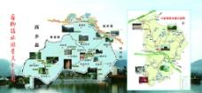 旅游分布图图片