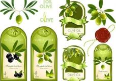 橄榄油标签图片