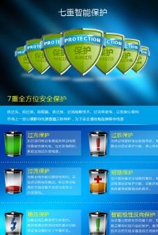 电池网页海报图片