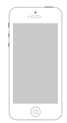 線描 iphone5圖片