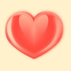情人节水晶心形笔刷