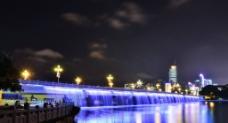 南湖夜色图片