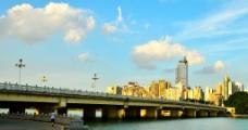 南宁南湖桥风光图片