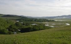 呼伦贝尔草原风光图片