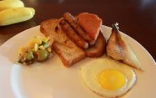 塞班岛美食早餐图片