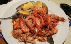 塞班岛海鲜自助美食图图片