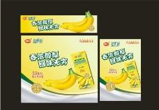 南山香蕉味牛奶饮料图片