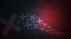 超炫十字背景