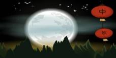 中秋节视频背景月亮图片