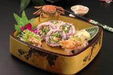 日本料理 软壳蟹寿司