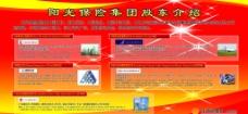 阳光保险展板图片